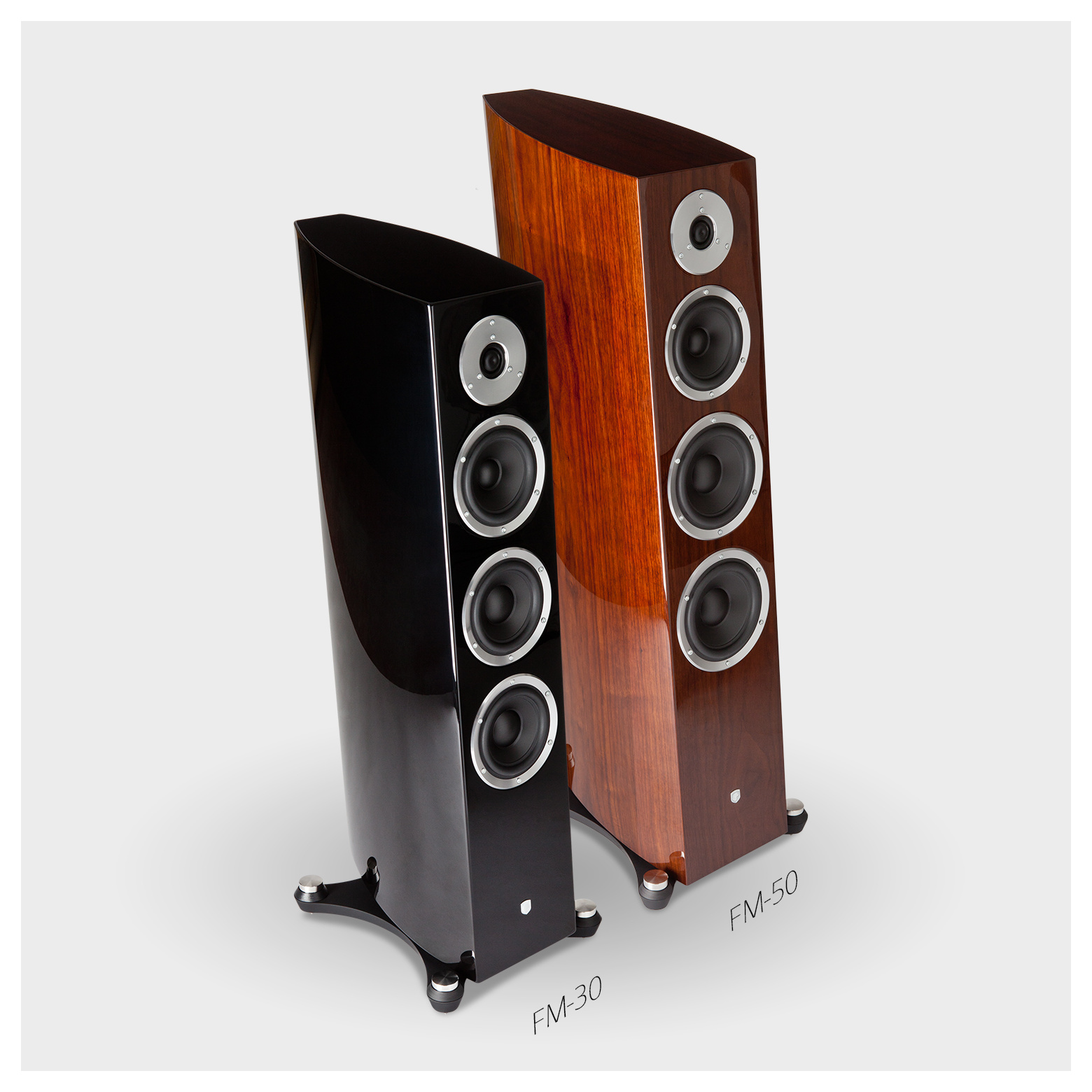 Fm 50 Three Way Passive Floorstanding Speaker
