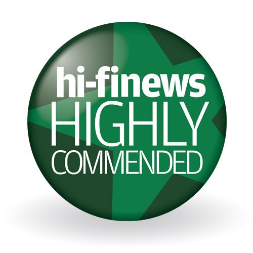 Hifi News Award