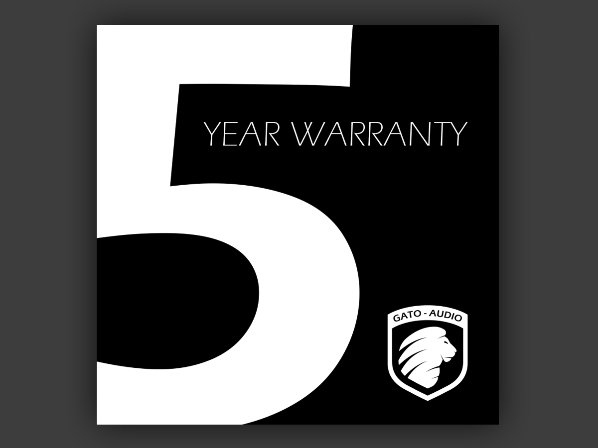 Get 5 Years of Warranty
