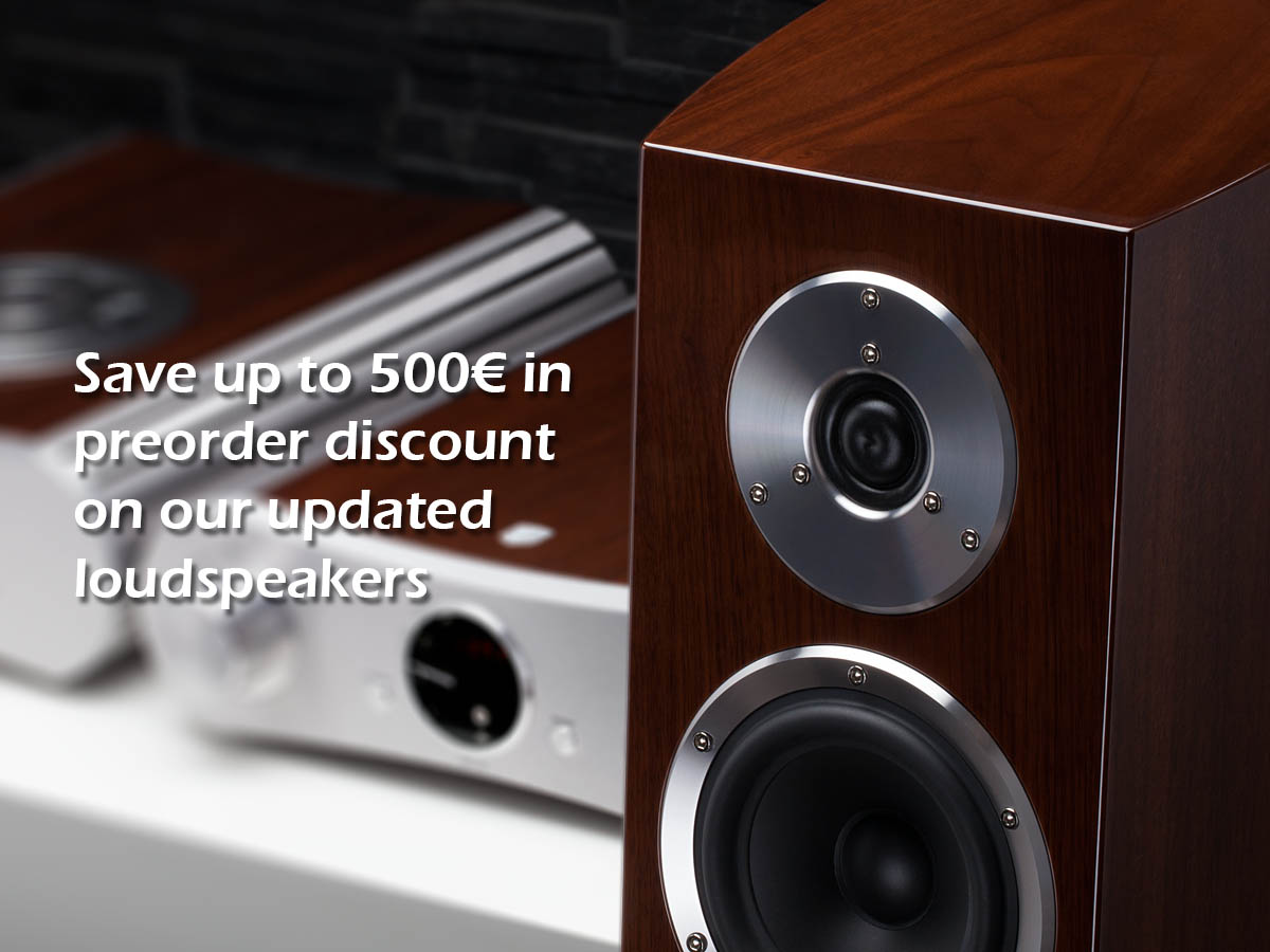 Preorders of The Updated FM Loudspeakers Starts Now!