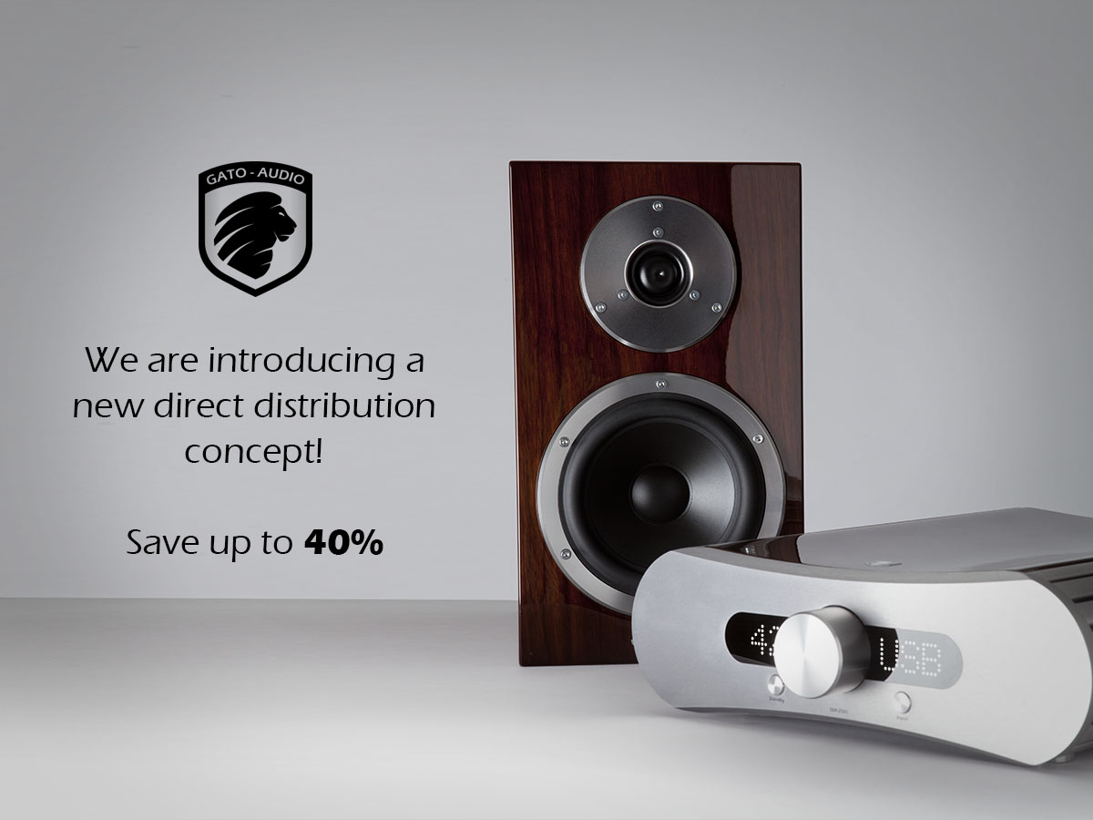 Gato Audio goes lean and cuts 40% of the pricing!